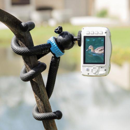 HAMA FlexPro Blue 27cm Tripod Product Image (Secondary Image 7)