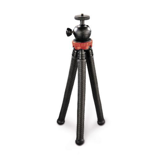 HAMA Flexpro Red 27cm Tripod. Product Image (Secondary Image 1)