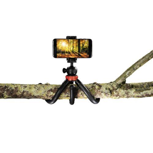 HAMA Flexpro Red 27cm Tripod. Product Image (Secondary Image 5)