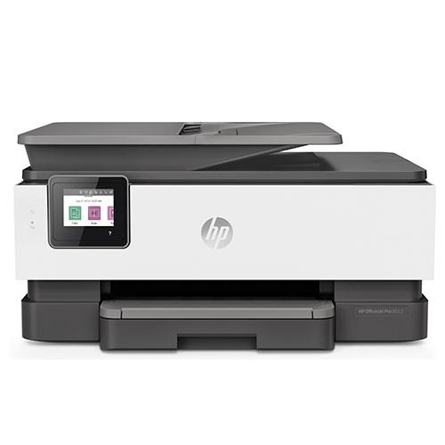 HP OfficeJet 8022 All-in-One Printer Product Image (Primary)