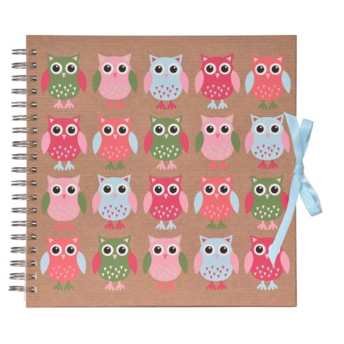 Owl Scrapbook Product Image (Primary)