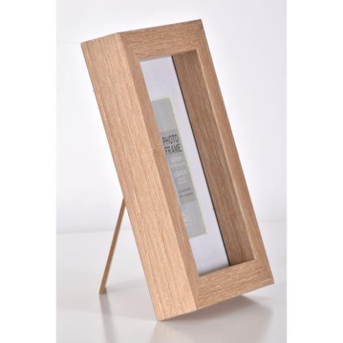 """OAK MDF Block Frame 6 x 4"""" Product Image (Secondary Image 1)"""