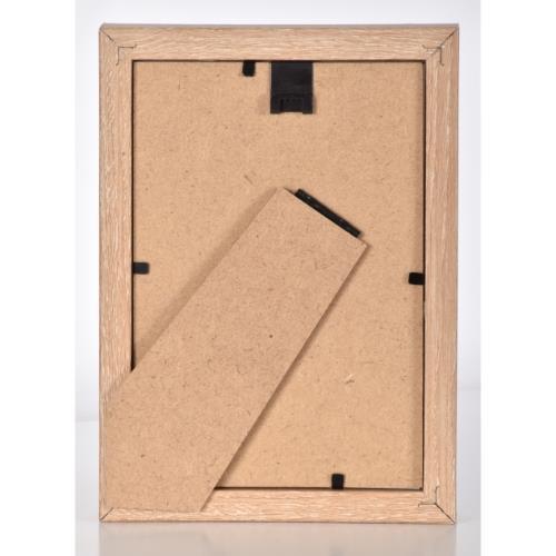 """OAK MDF Block Frame 6 x 4"""" Product Image (Secondary Image 3)"""