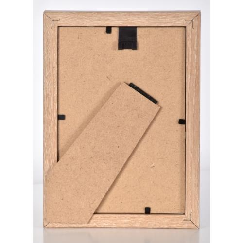 "Oak MDF Block Frame 8 x 6"" Product Image (Secondary Image 3)"