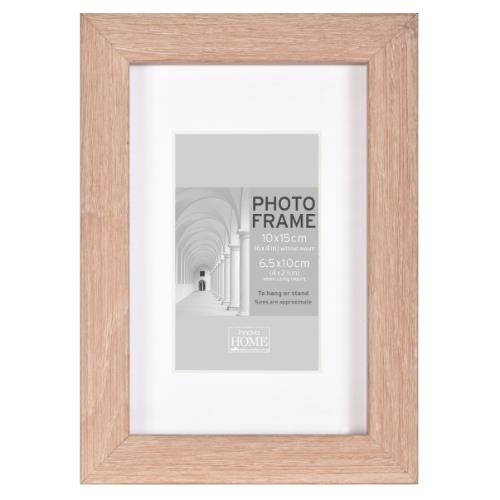 "Oak MDF Block Frame 12 x 10"" Product Image (Primary)"
