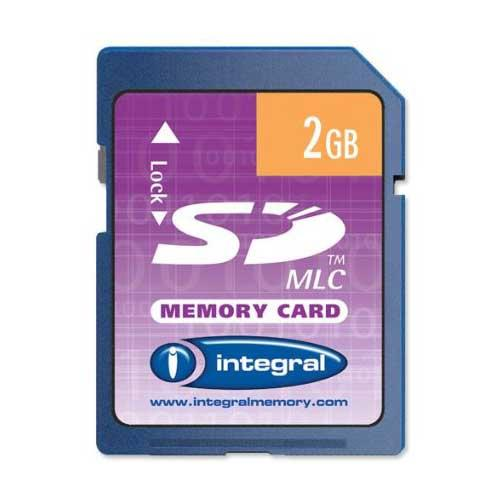 2GB SD Memory Card Product Image (Primary)