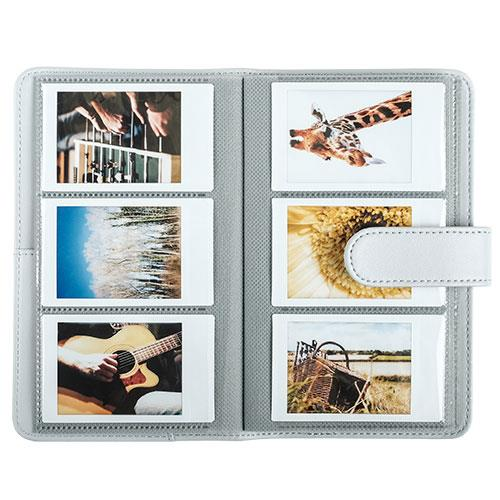 mini 9 Photo Album in Smoky White Product Image (Secondary Image 1)