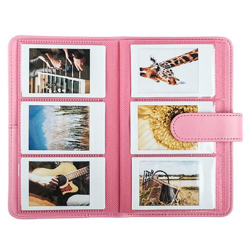 mini 9 Photo Album in Flamingo Pink Product Image (Secondary Image 1)