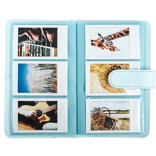 Mini 9 Photo Album in Ice Blue - Ex Display  Product Image (Secondary Image 1)