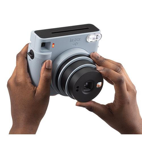 SQ1 Instant Camera in Glacier Blue Product Image (Secondary Image 4)