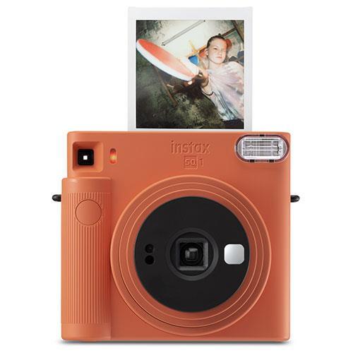 SQ1 Instant Camera in Terracotta Orange Product Image (Primary)