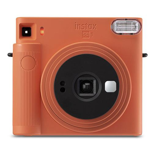 SQ1 Instant Camera in Terracotta Orange Product Image (Secondary Image 1)