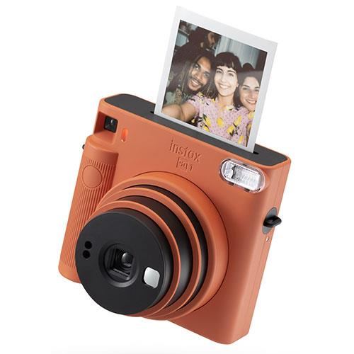 SQ1 Instant Camera in Terracotta Orange Product Image (Secondary Image 3)
