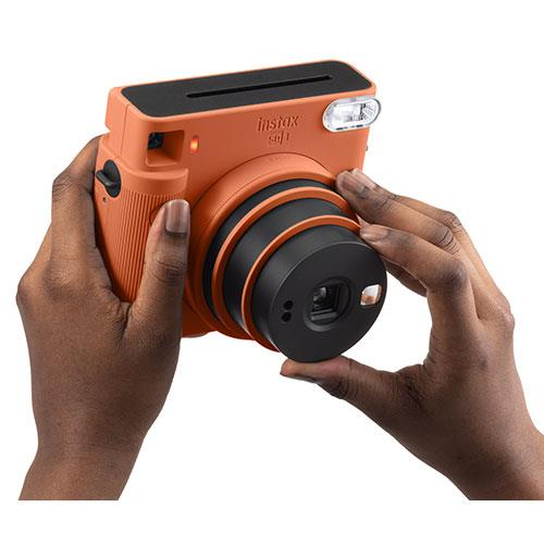 SQ1 Instant Camera in Terracotta Orange Product Image (Secondary Image 4)