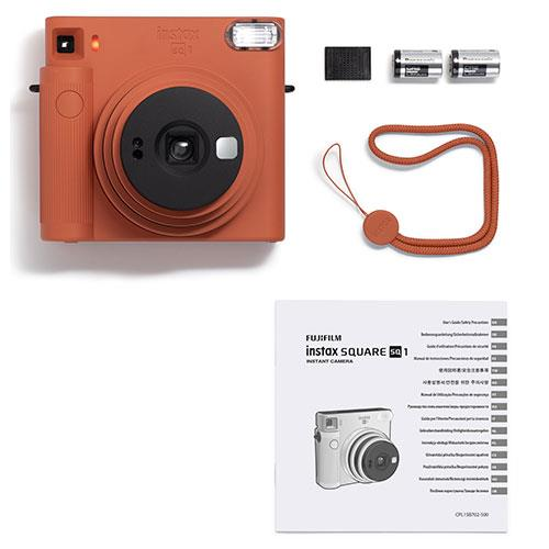 SQ1 Instant Camera in Terracotta Orange Product Image (Secondary Image 5)