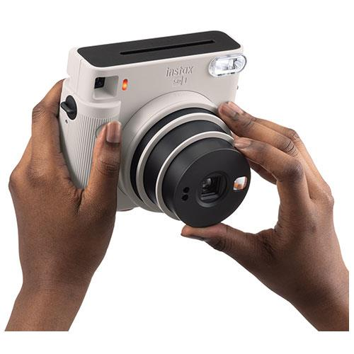 SQ1 Instant Camera in Chalk White Product Image (Secondary Image 4)