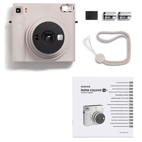 SQ1 Instant Camera in Chalk White Product Image (Secondary Image 5)