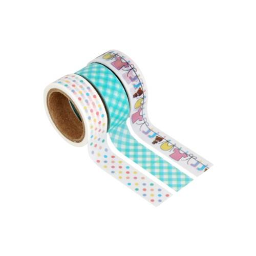 WPS WASHI TAPE PACK - BABY 3Pc Product Image (Primary)