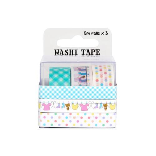 WPS WASHI TAPE PACK - BABY 3Pc Product Image (Secondary Image 1)