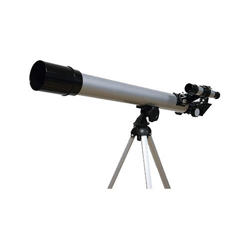 600x50 Silver telescope Product Image (Primary)