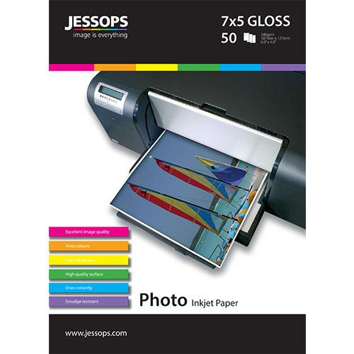 JESS IJ PHOTO 7X5 GLOSS 50 NEW Product Image (Primary)
