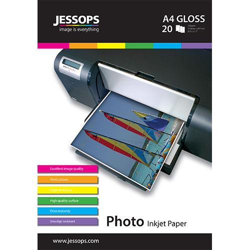 JESS IJ PHOTO A4 GLOSS 20 NEW Product Image (Primary)