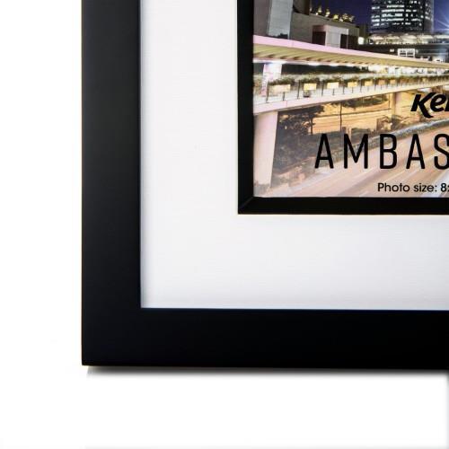 """AMBASSADOR 6X4"""" BLACK FRAME Product Image (Secondary Image 1)"""