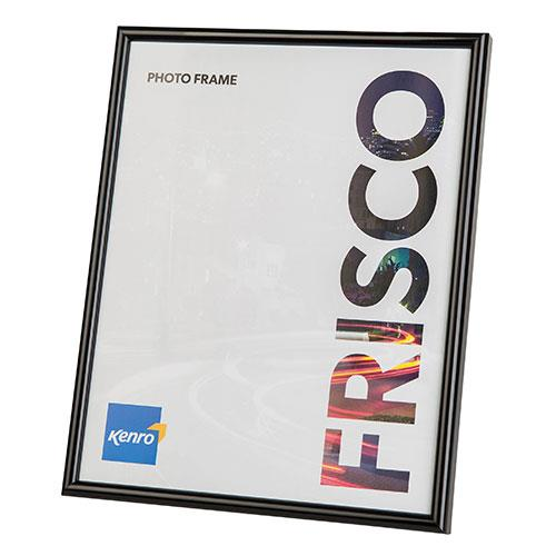 Frisco Photo Frame 8x6 (15x20cm) - Black Product Image (Primary)