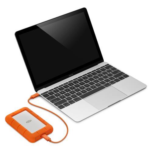 LaCie 4TB Rugged USB-C Product Image (Secondary Image 2)