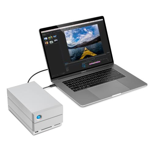 LaCie 8TB 2big Dock TB3 Product Image (Secondary Image 3)