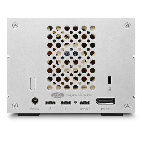 LaCie 8TB 2big Dock TB3 Product Image (Secondary Image 4)