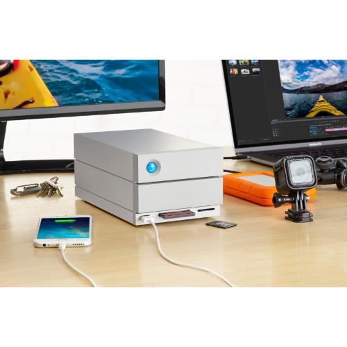 LaCie 8TB 2big Dock TB3 Product Image (Secondary Image 6)