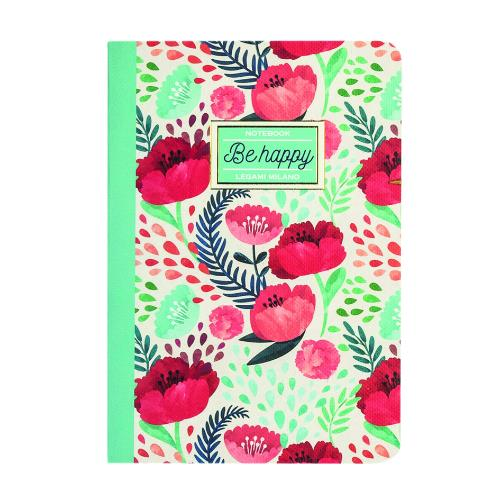 LEGAMI Quaderno A6 Lined Flowe Product Image (Primary)