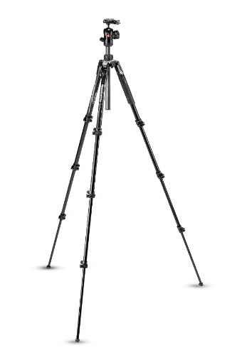 BeFree Advanced Aluminium Travel Tripod Lever, ball head Product Image (Secondary Image 9)