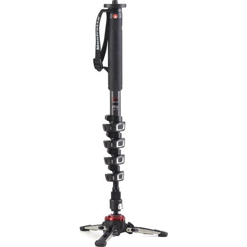 XPRO Carbon 5 section Fluid Video Monopod Product Image (Primary)