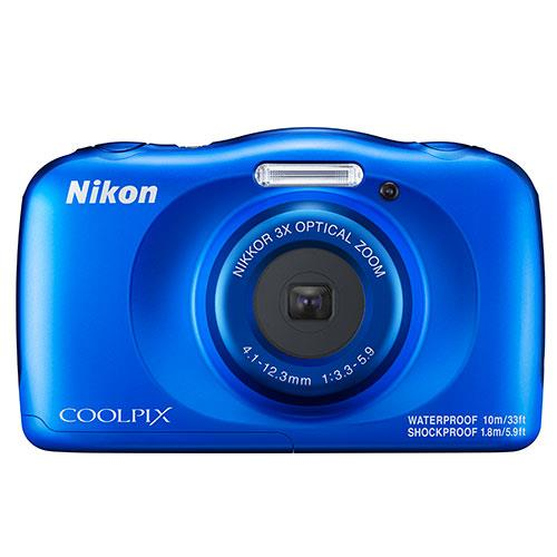 Coolpix W150 Camera in Blue Product Image (Primary)