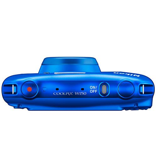 Coolpix W150 Camera in Blue Product Image (Secondary Image 2)