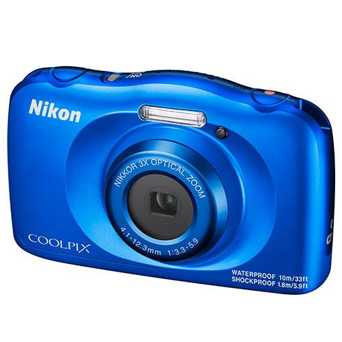 Coolpix W150 Camera in Blue Product Image (Secondary Image 3)