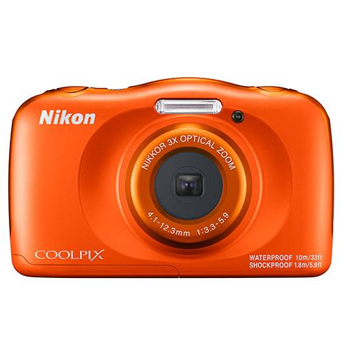 Coolpix W150 Camera in Orange Product Image (Primary)