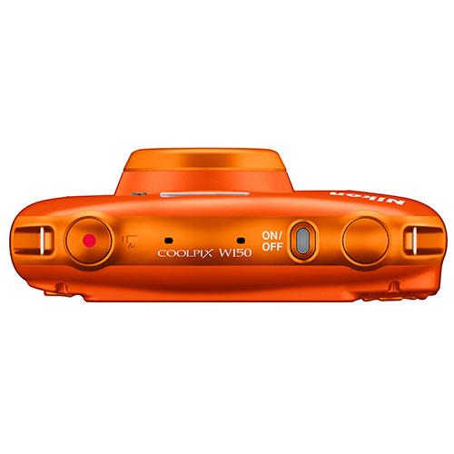 Coolpix W150 Camera in Orange Product Image (Secondary Image 2)