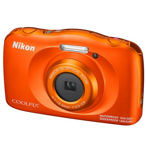 Coolpix W150 Camera in Orange Product Image (Secondary Image 3)
