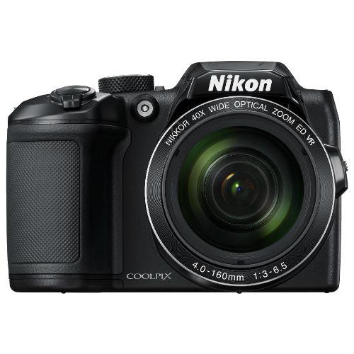Coolpix B500 Digital Camera in Black Product Image (Primary)