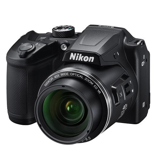 Coolpix B500 Digital Camera in Black Product Image (Secondary Image 1)