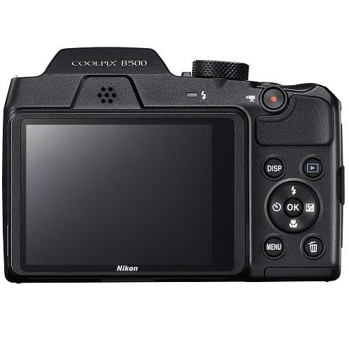 Coolpix B500 Digital Camera in Black Product Image (Secondary Image 3)
