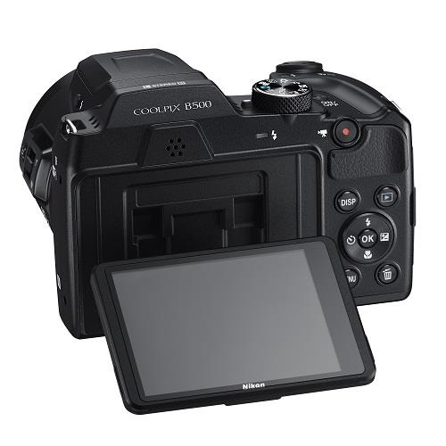 Coolpix B500 Digital Camera in Black Product Image (Secondary Image 4)