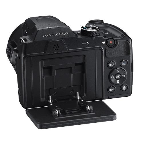 Coolpix B500 Digital Camera in Black Product Image (Secondary Image 6)