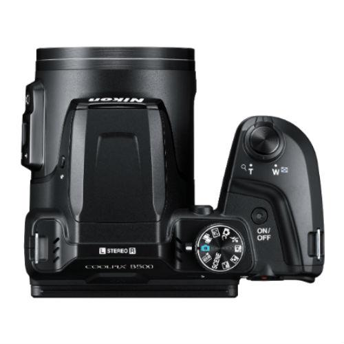 Coolpix B500 Digital Camera in Black Product Image (Secondary Image 7)