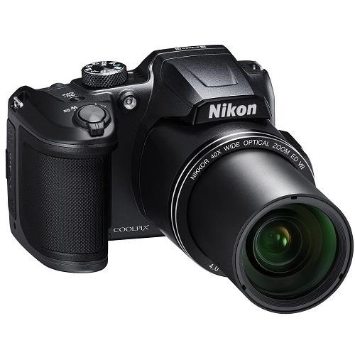 Coolpix B500 Digital Camera in Black Product Image (Secondary Image 9)