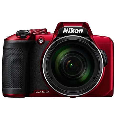 Coolpix B600 Digital Camera in Red Product Image (Primary)