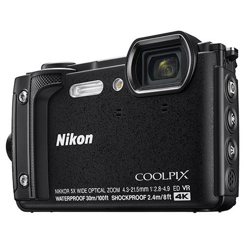 Coolpix W300 Camera in Black Product Image (Primary)